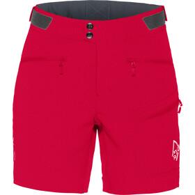 Norrøna Falketind Flex1 Shorts Dam jester red